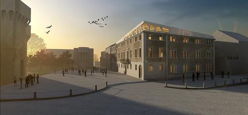 Simbiosi Architects, Dora Balnta, Marco Caprani — Redevelopment of Palazzo Costa Giani. San Felice sul Panaro