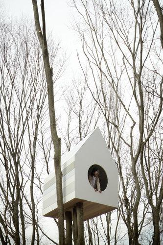 nendo — Bird-apartment