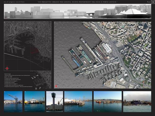 Luciano Mazzone — Genova: nuovo Waterfront tra foce e Porto Antico