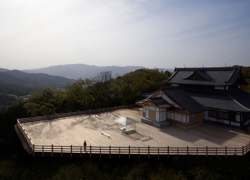 Tokujin Yoshioka — KOU-AN Glass-Tea House