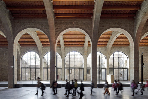 Terradas Arquitectos — Museo marítimo drassanes de Barcelona