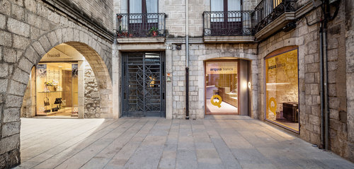 Javier de las Heras Solé — New Arquia Banca office in Girona