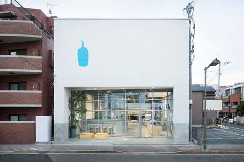 Schemata Architects — Blue Bottle Coffee Kiyosumi-Shirakawa Roastery & Cafe
