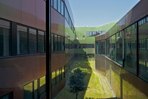 Philippe Gazeau — Building of the lycée Nelson Mandela secondary school, Etampes