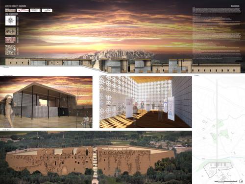 ADG_ARCH, Danilo Di Lorenzo Di Michele, Guido Iampieri — Bamiyan Cultural Centre Design Competition