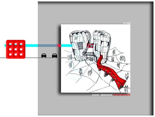 Piero Speranza, Corinne Piera Speranza, sas&a - studio di architettura speranza associati — Two seeds with a red worm