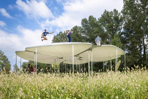 Atelier Zündel Cristea  — Flower Pavilion