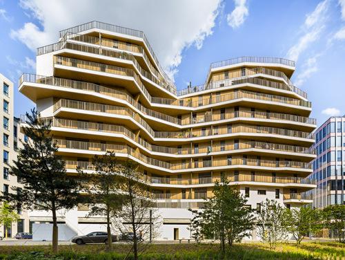 Atelier d'Architecture Brenac & Gonzalez — 95 logements MLB4 A