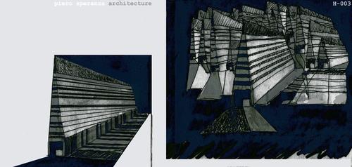 Piero Speranza, Corinne Piera Speranza, sas&a - studio di architettura speranza associati — Espacio Arquitectonico como refugio del espirito