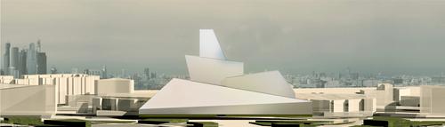 Paolo Capponcelli, Panstudio Architetti Associati — National Centre for Contemporary Arts (NCCA). Moscow