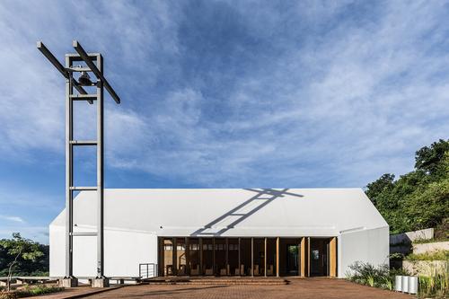 CELLA estudio de arquitectura, Ramiro Sosa (Photographer) — Saint Anne Chapel