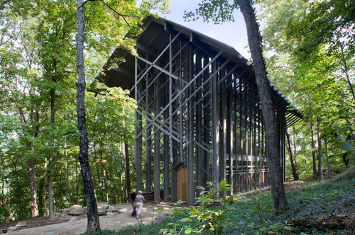 Euine Fay Jones — Thorncrown Chapel