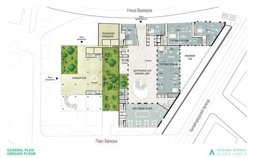 Piuarch — Multipurpose complex with Mandarin Oriental Hotel 5*