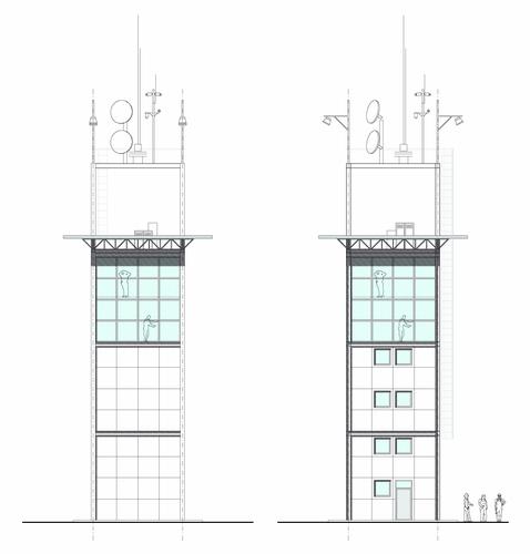 Alessandro Bianchi — Torre di controllo in area portuale