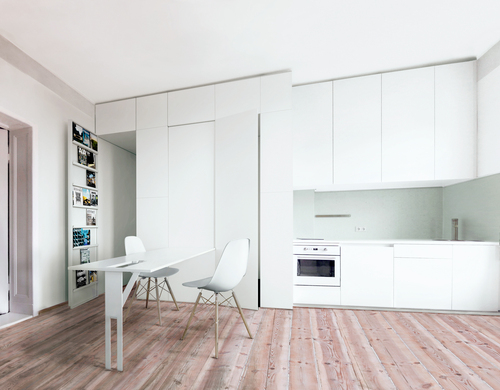 Itay Friedman Architects — T Apartment