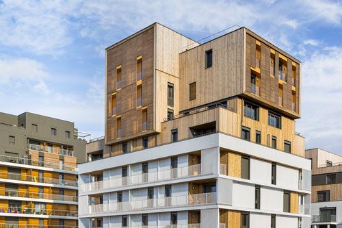 Ameller, Dubois & Associés  — Housing and shops complex