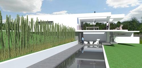 Giancorrado Dipietro - architetto — CASA SUL PENDIO