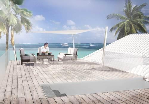 Giacomo Marafini — The Terrace on the Ocean - Caraibi