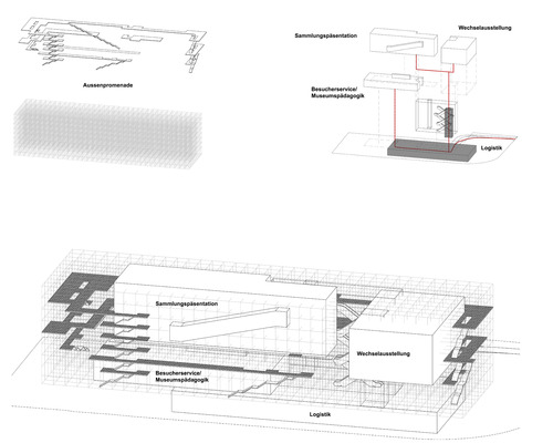 c-b-a  | context of  bare architecture, Grupa 4 — bauhaus promenade
