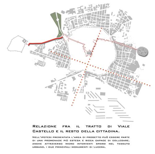 Giovanni Fiamingo, Giovanni Lazzari, sergio zappia , Marco Porcino — Riqualificazione di Viale Castello - Lucera