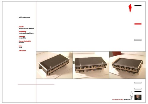 renzo antonicelli architetto      — RESIDENZA MANARA