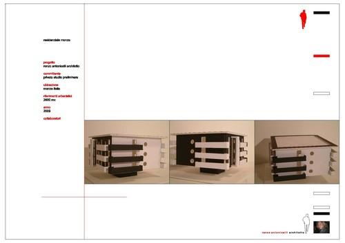 renzo antonicelli architetto      — RESIDENZA FRUTTUOSO