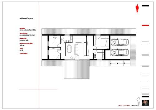 renzo antonicelli architetto      — RESIDENZA BERGAMO