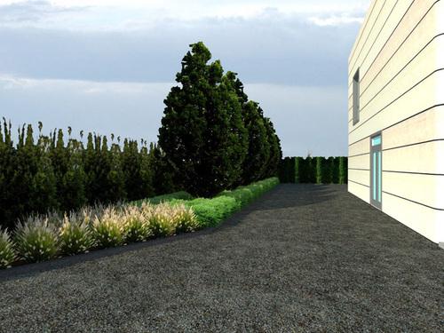 B SCAPE architettura del paesaggio, Silvia Bonzio, Vera Busutti, Francesca Tattini — Giardino aziendale, Funo Argelato