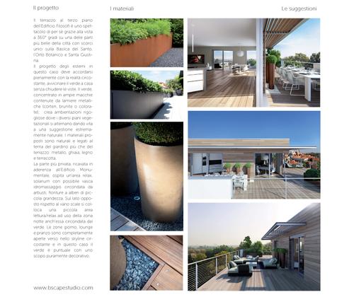 B SCAPE architettura del paesaggio, Silvia Bonzio, Laura Ponchio, Vera Busutti — Antonianum Residenze, Padova