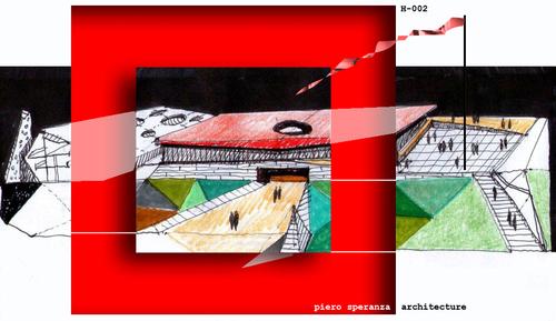 Piero Speranza, Corinne Piera Speranza, sas&a - studio di architettura speranza associati — Padiglione dueduezero