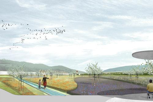 Anna Viader, nsp landschaftsarchitekten stadtplaner, Thomas Will — Garden of Palazzo Vescovile. Bressanone/Brixen