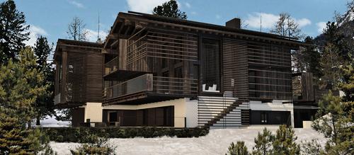 Lazzarini Pickering Architetti — Nuovo Chalet a Suvretta, St Moritz