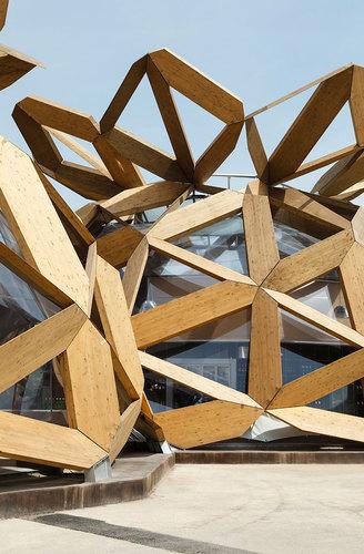 Miralles Tagliabue EMBT — Copagri Pavilion 'Love IT'