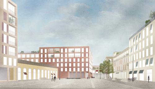 Caruso St John Architects — Progetto Flaminio