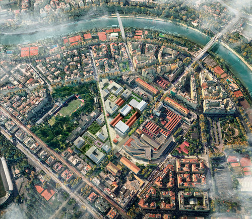 KCAP architects&planners, Spsk* — Progetto Flaminio
