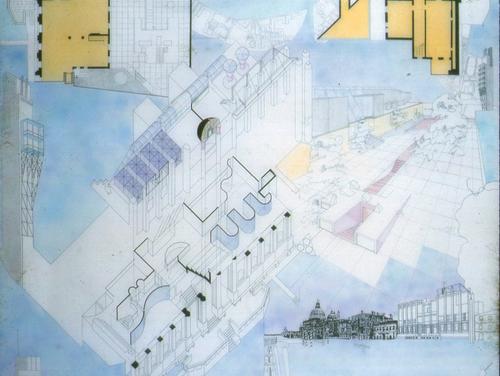 Piero Speranza, mariarosaria arena — Biennale di Venezia , marzo 1985
