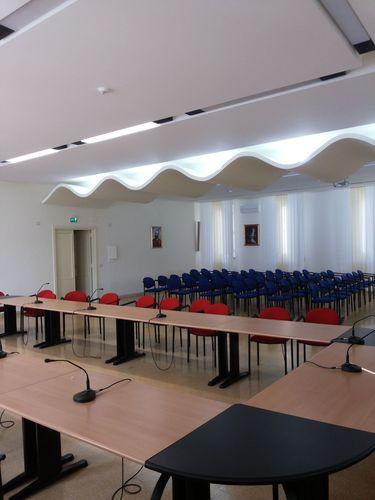 Michele Varone, Claudio Cesarano — Restyling della Sala della Conferenza Episcopale Campana