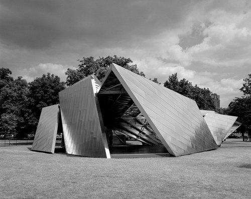 Daniel Libeskind, Arup — Serpentine Pavilion 2001