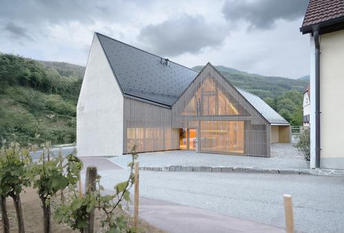 Elmar Ludescher, Philip Lutz Architektur — Tenuta Högl, Austria