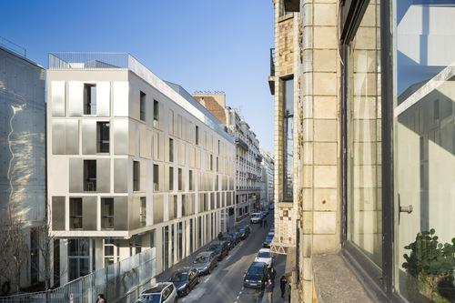 Atelier d'Architecture Brenac & Gonzalez — Internat Guillaume Tirel