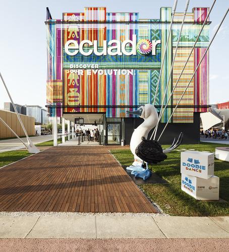 Luis — KRISKADECOR DAZZLES AT THE 2015 MILAN EXPO