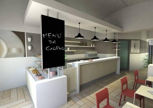 STEFANO GERVASI architetto, Salvatore La Versa, Roberta Leto Barone — PAUSA CAFFE' lounge bar