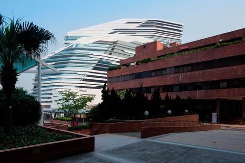 Zaha Hadid Architects — Jockey Club Innovation Tower