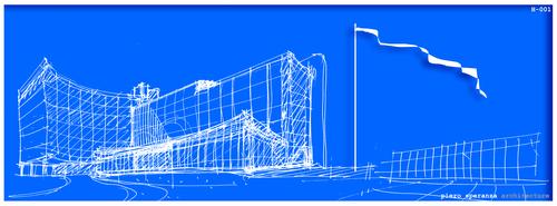 Piero Speranza, Corinne Piera Speranza, sas&a - studio di architettura speranza associati — Kunslan Headquarters - Office Building in Berlin