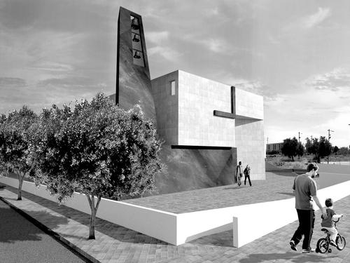 studio  castellana.architetti — COMPLESSO PARROCCHIALE SANTA MARIA DELLA SPERANZA_NISCEMI / concorso