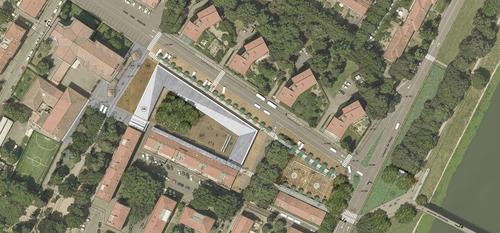 Nicola Ferrara — Concorso dI Progettazione per la Riqualificazione di Piazza dell'Isolotto a Firenze