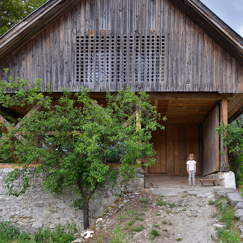 Ofis Arhitekti — Alpine Barn Apartment