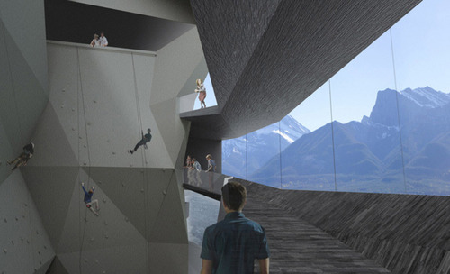 Saucier + Perrotte Architectes — The National Mountain Centre Project