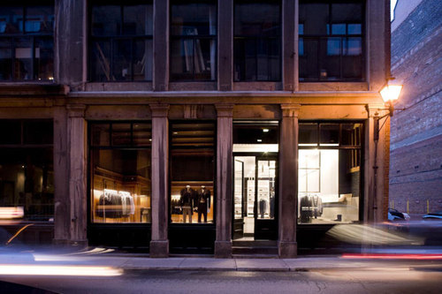 Saucier + Perrotte Architectes — Michel Brisson Men's Store