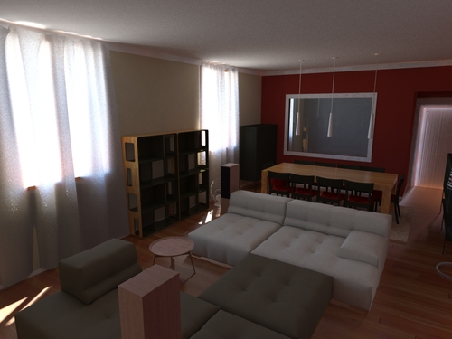 Cristian Sporzon — Living Area Renewal in Milan Downtown